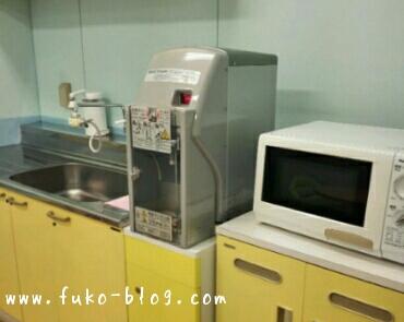 USJファミリールームのキッチン